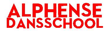 Logo Alphense Dansschool